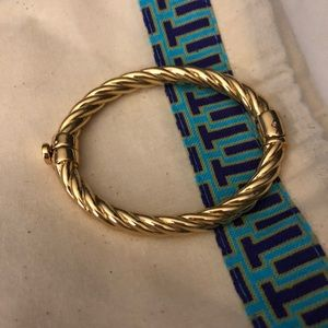 Twisted Coil Cuff Tory Burch Bracelet (NWOT)